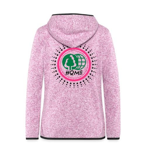Planète home sweet home - Women's Hooded Fleece Jacket