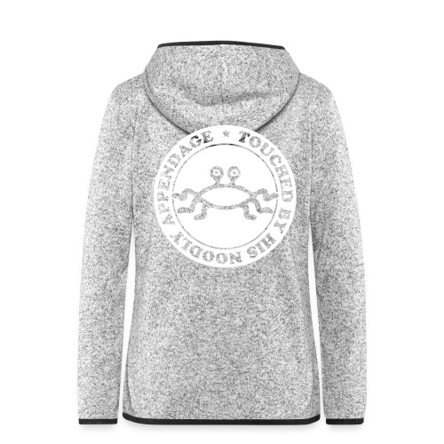 Touched by His Noodly Appendage - Women's Hooded Fleece Jacket