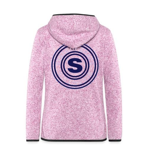 state of grace logo - Women's Hooded Fleece Jacket
