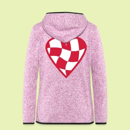 Brabant hart - Vrouwen hoodie fleecejack