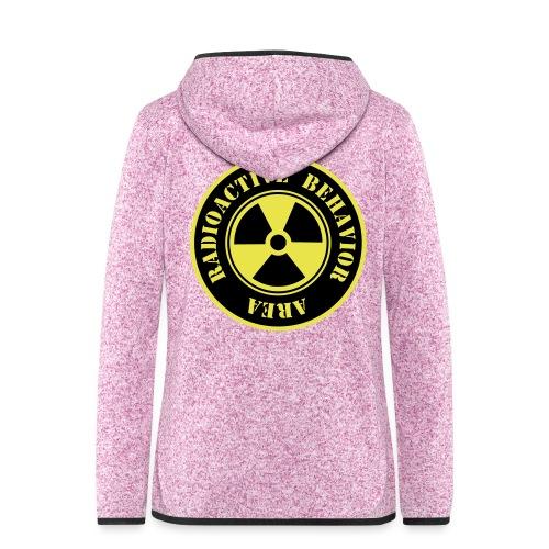Radioactive Behavior - Chaqueta de forro polar con capucha