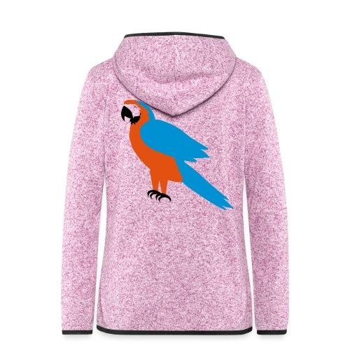 Parrot - Giacca di pile con cappuccio da donna