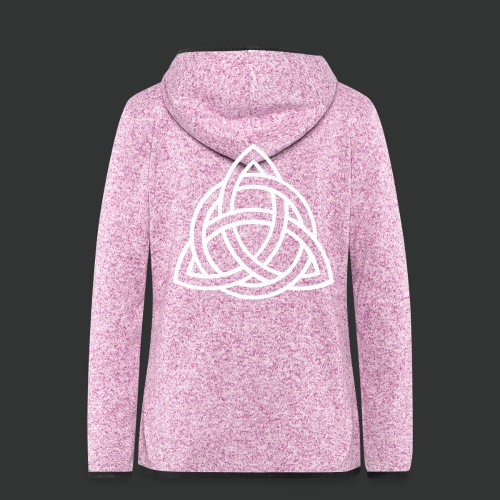 Celtic Knot — Celtic Circle - Women's Hooded Fleece Jacket