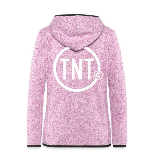 TNT-circle - Vrouwen hoodie fleecejack