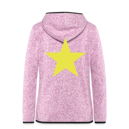 étoile couleurs modifia.. - Veste à capuche polaire pour femmes