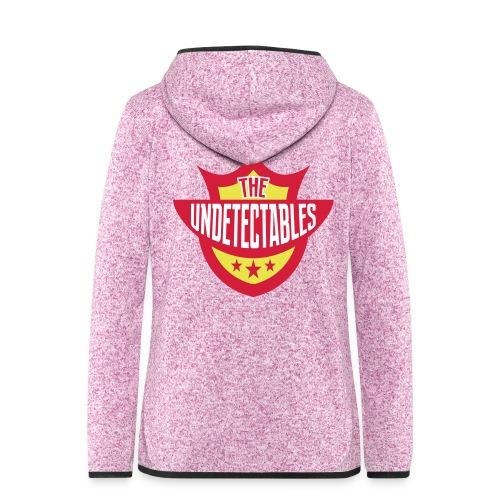 Undetectables voorkant - Vrouwen hoodie fleecejack