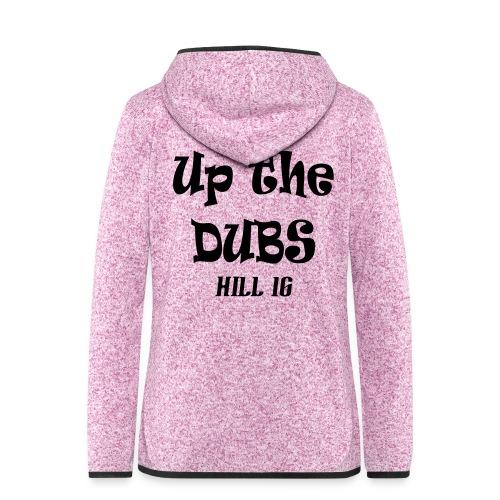Up The Dubs - Women's Hooded Fleece Jacket
