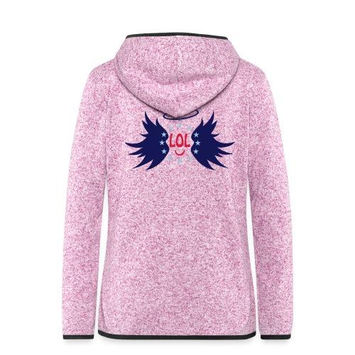Tablier de cuisine : LOL avec aile ange - Women's Hooded Fleece Jacket