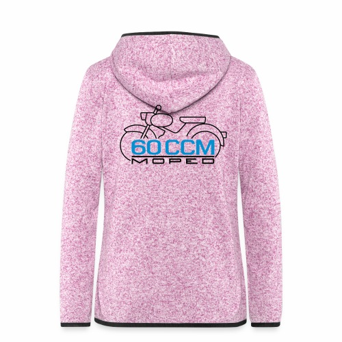 Moped sparrow 60 cc emblem - Women's Hooded Fleece Jacket