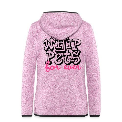 Whippet for ever - Veste à capuche polaire pour femmes