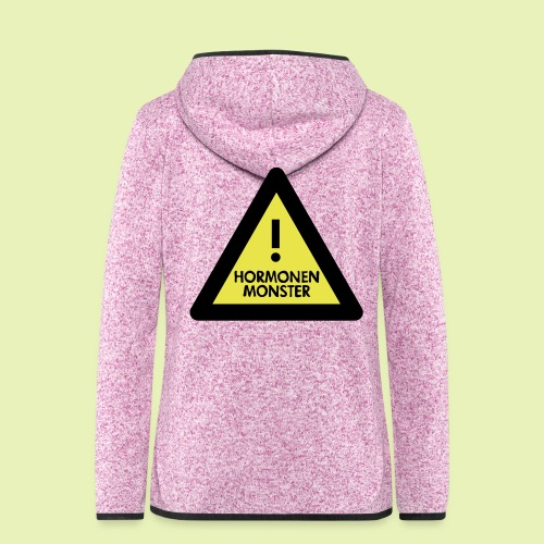 Hormonen monster ( zwanger ) - Vrouwen hoodie fleecejack