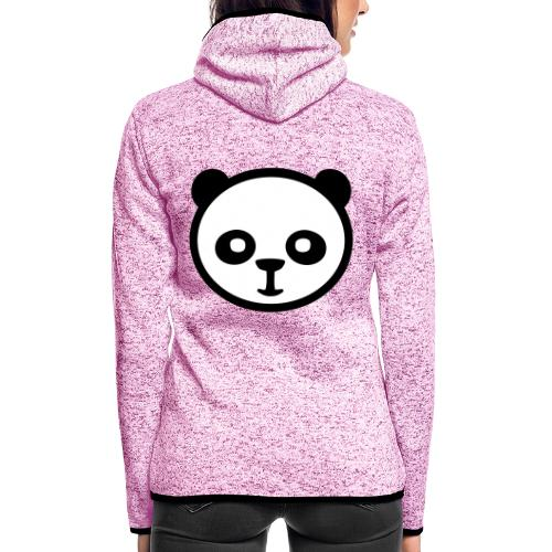 Panda, Panda gigante, Panda gigante, Orso di bambù - Giacca di pile con cappuccio da donna