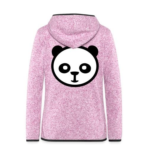 Pandabär, Große Panda, Riesenpanda, Bambusbär - Frauen Kapuzen-Fleecejacke