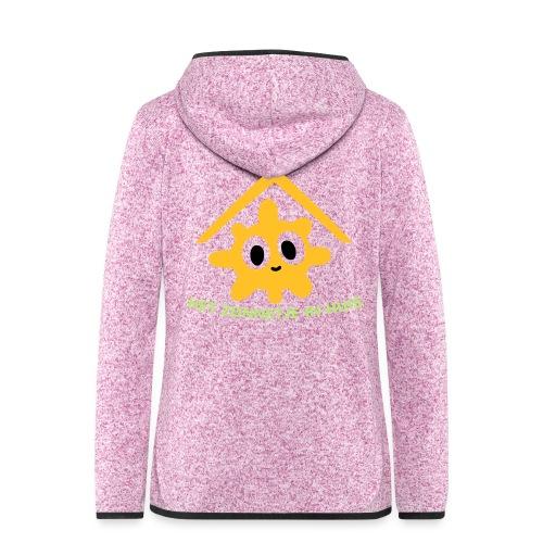 Grappige Rompertjes: Het zonnetje in huis - Vrouwen hoodie fleecejack