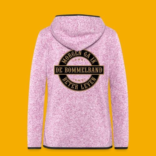 bb logo rond shirt - Vrouwen hoodie fleecejack