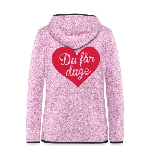 Ekte kjærlighet - Det norske plagg - Hette-fleecejakke for kvinner