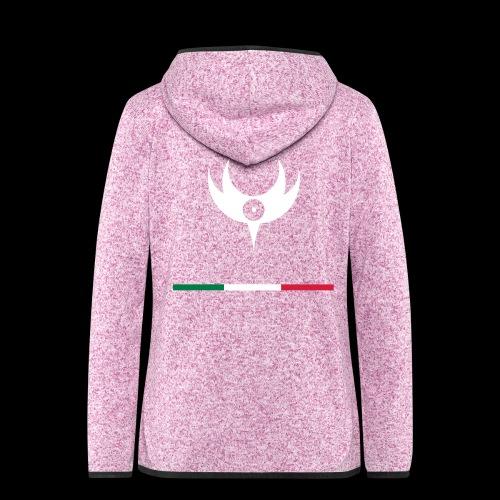 HESPERIA slo Logo svg - Women's Hooded Fleece Jacket