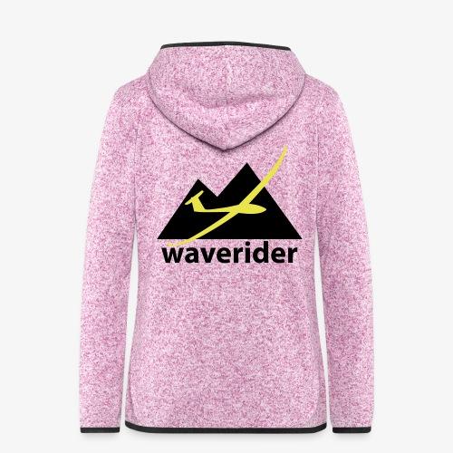 soaring-tv: waverider - Frauen Kapuzen-Fleecejacke
