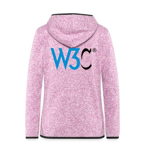 w3c - Women's Hooded Fleece Jacket