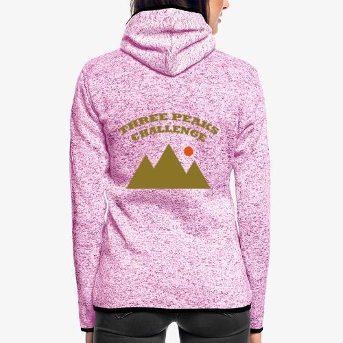 Three Peaks Challenge - Women's Hooded Fleece Jacket