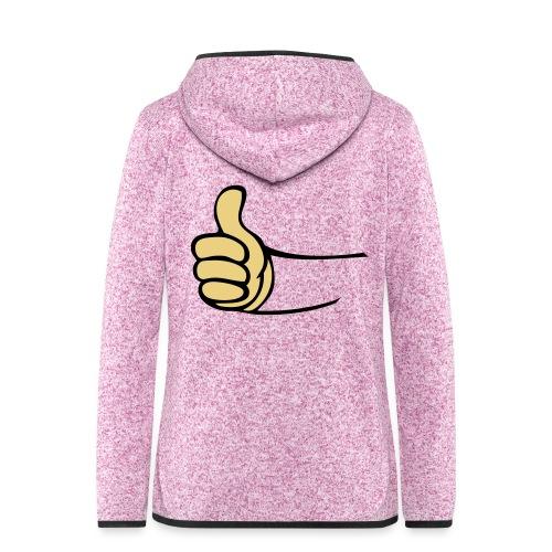 Vault - Vrouwen hoodie fleecejack
