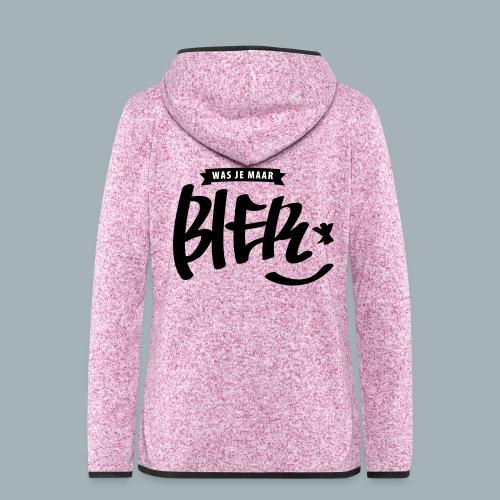 Bier Premium T-shirt - Vrouwen hoodie fleecejack