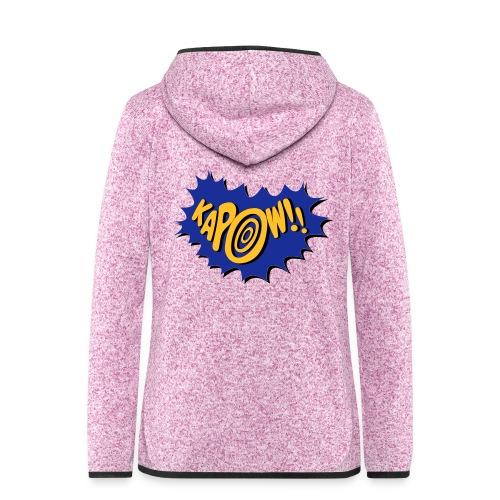 kapow - Women's Hooded Fleece Jacket