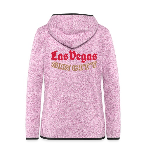 LAS VEGAS SIN CITY - Women's Hooded Fleece Jacket