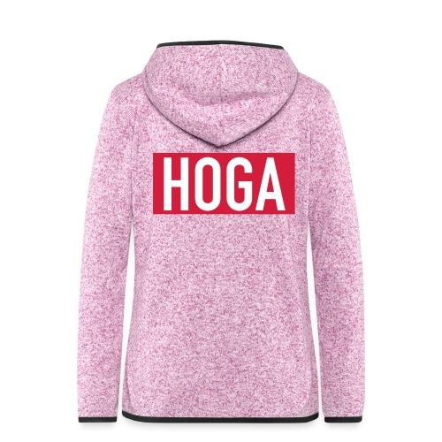 HOGAREDBOX - Hette-fleecejakke for kvinner