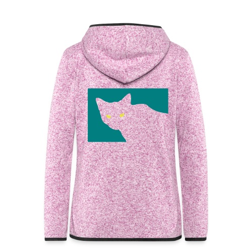 Spy Cat - Women's Hooded Fleece Jacket