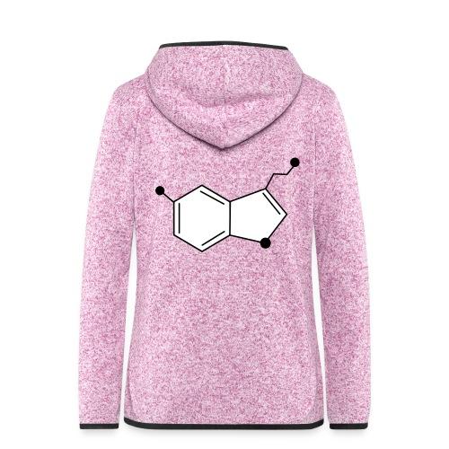 Serotonine - Giacca di pile con cappuccio da donna