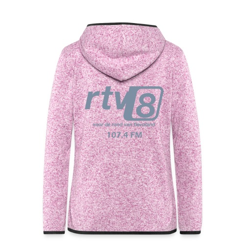 logo - Vrouwen hoodie fleecejack