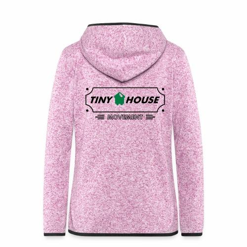 TinyHouse - Frauen Kapuzen-Fleecejacke