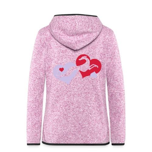 Lévrier Valentin - Veste à capuche polaire pour femmes