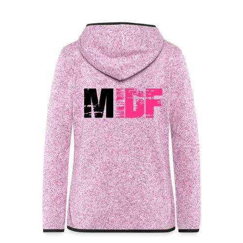 Logo MIDF 2 - Veste à capuche polaire pour femmes