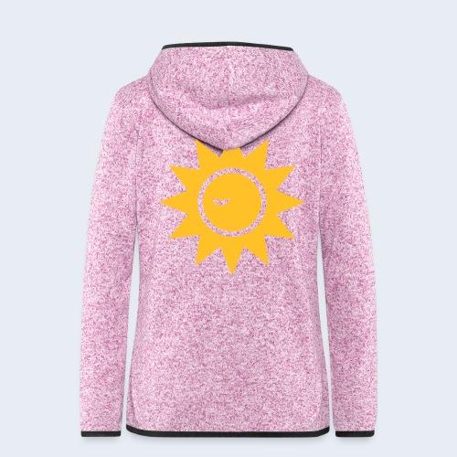 Winky Sun - Vrouwen hoodie fleecejack