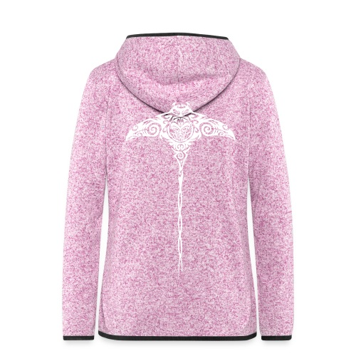 Aloha Ray - Women's Hooded Fleece Jacket