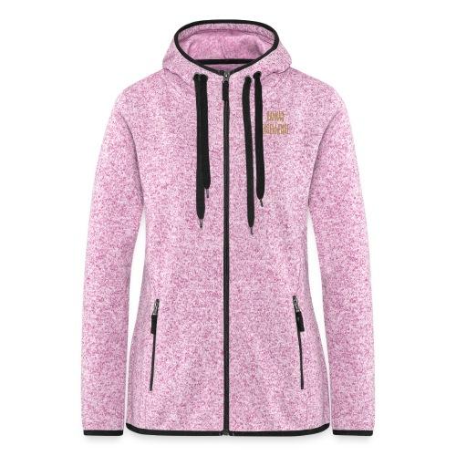 Balkan Excellence vert. - Women's Hooded Fleece Jacket
