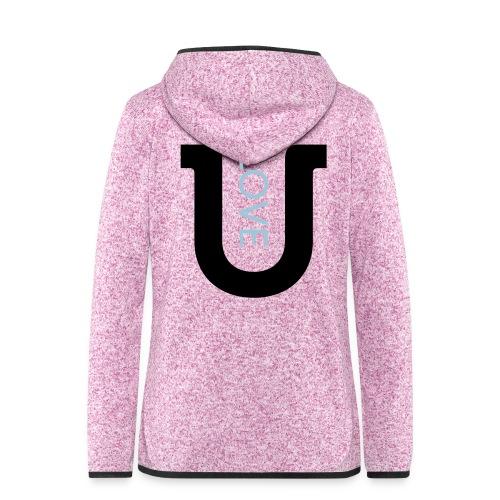 love 2c - Women's Hooded Fleece Jacket