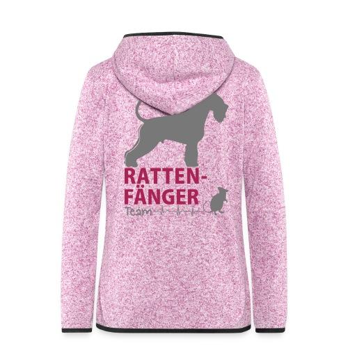 Team Rattenfänger - Frauen Kapuzen-Fleecejacke