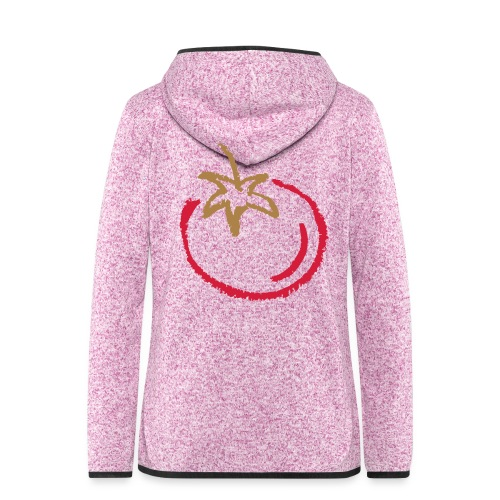 tomato 1000points - Women's Hooded Fleece Jacket