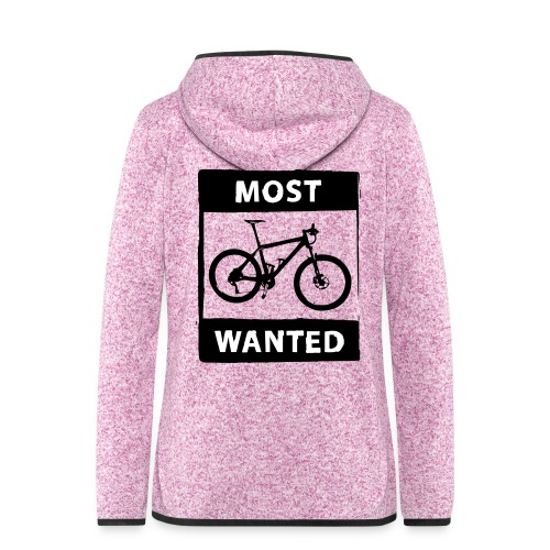 MTB - most wanted 2C - Frauen Kapuzen-Fleecejacke