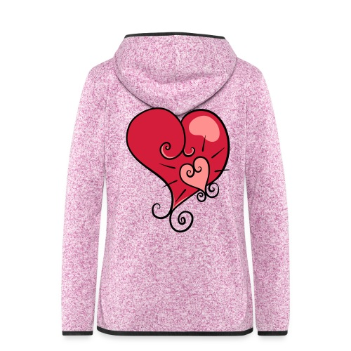 The world's most important. - Women's Hooded Fleece Jacket