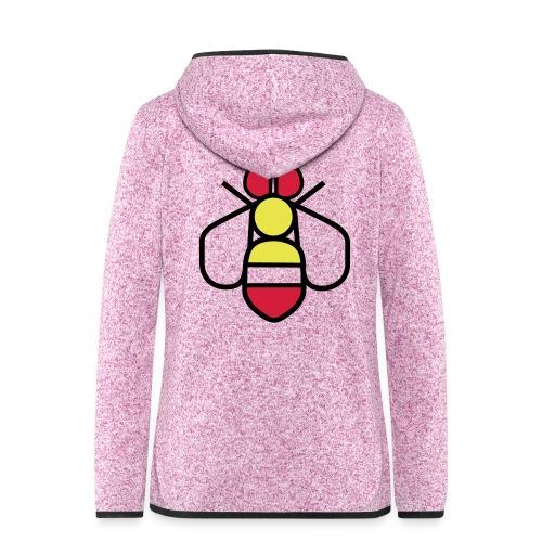 Bee - Women's Hooded Fleece Jacket