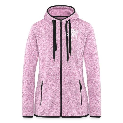 w wahnsinn - Vrouwen hoodie fleecejack