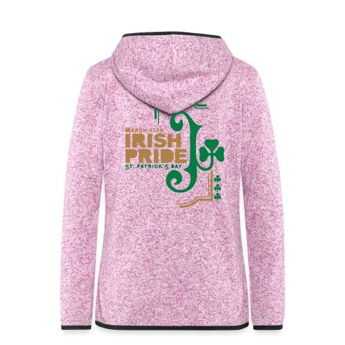 IRISH PRIDE - Women's Hooded Fleece Jacket