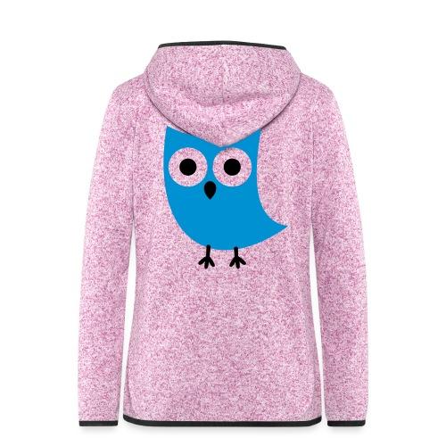 Uiltje - Vrouwen hoodie fleecejack
