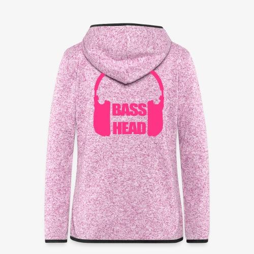 basshead - Women's Hooded Fleece Jacket