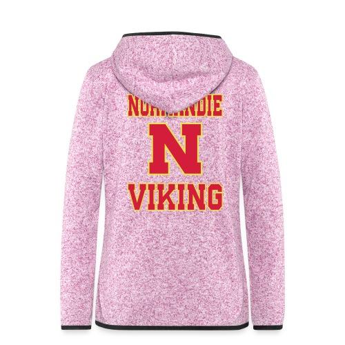 Normandie Viking - Veste à capuche polaire pour femmes