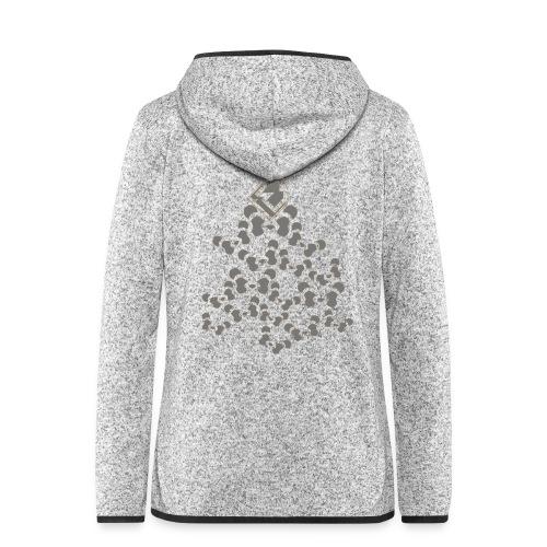 PANDA SHIRT V2 - Vrouwen hoodie fleecejack